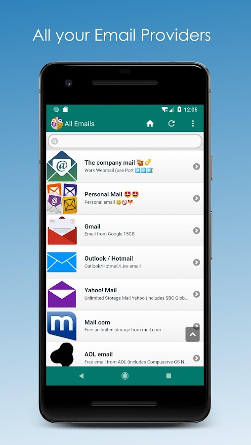 com mail emails 5 0 23 APK Download - Android Communication Apps
