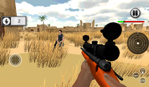 Fast Sniper Fast Shooter 3D 1.0 screenshot 4