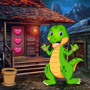 Cute Crocodile Rescue Best Escape Game-399 1.0.0 screenshot 1