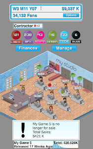 Game Studio Tycoon  screenshot 7