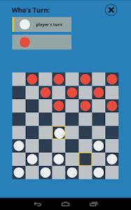 Checkers Touch 1.0 screenshot 2