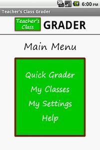 Teacher's Class GRADER FREE F.1.1 screenshot 2