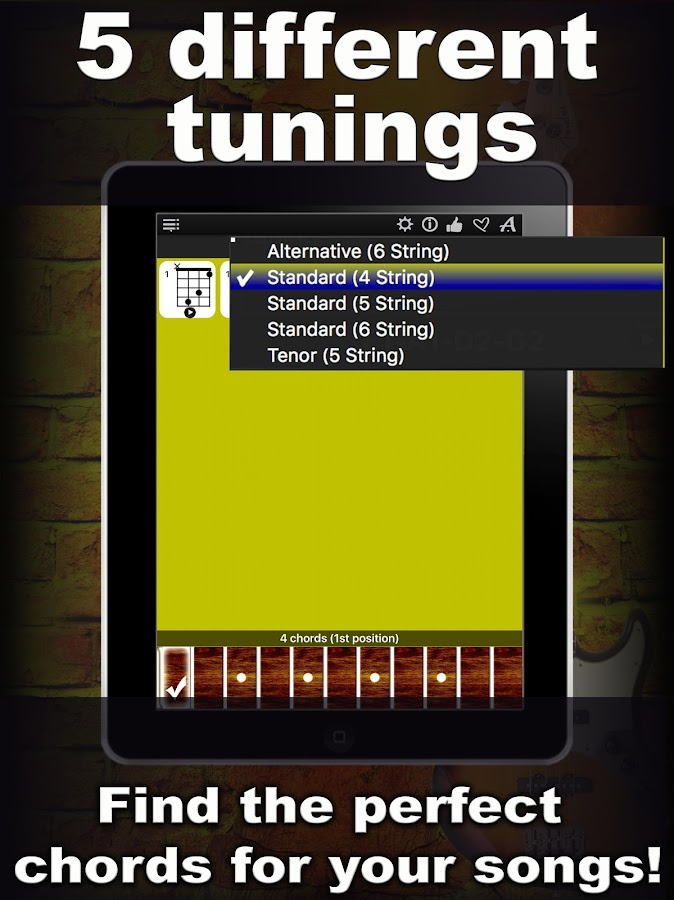 Bass Guitar Chords Compass 1.0 APK Download - Android Music & Audio Apps