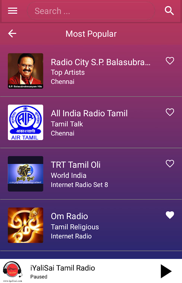 A2Z Tamil FM Radio 3 1 16 APK Download - Android Music
