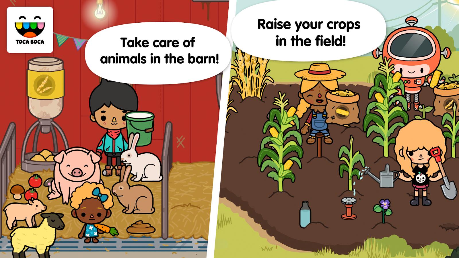 toca life farm apk full