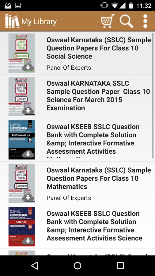 Karnataka SSLC Question Papers 1 0 APK Download - Android Education Apps