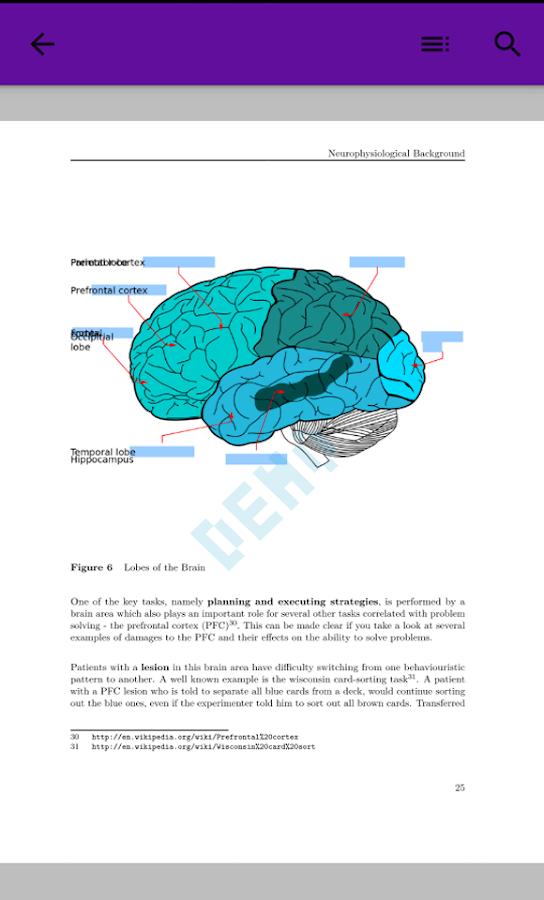 Cognitive Psychology and Cognitive Neuroscience 1 0 APK