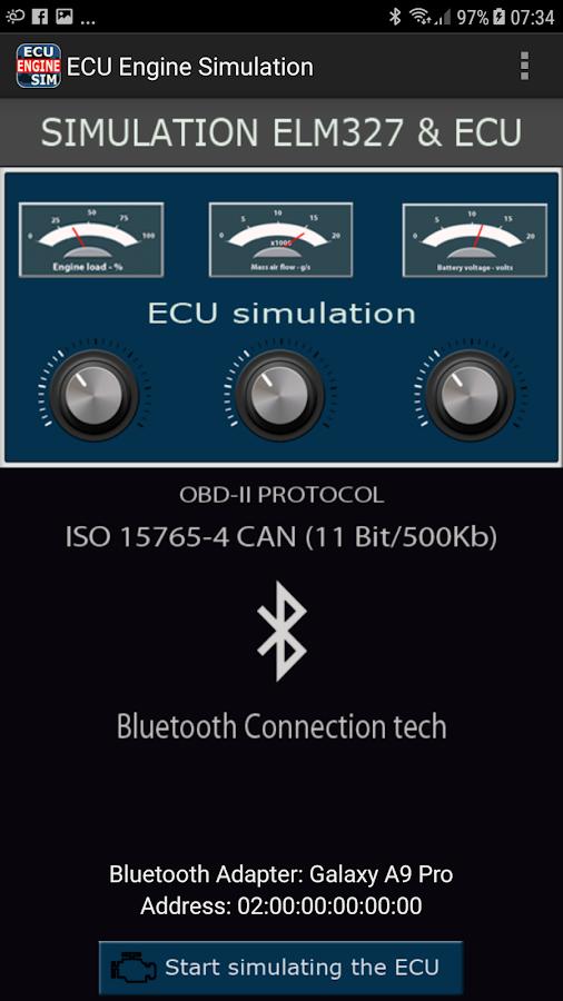 ECU Engine Sim 1 1 2 APK Download - Android Tools Apps