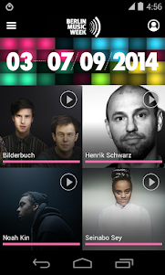 Berlin Music Week 2014 2.0.0 screenshot 2