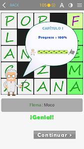 Crosswords - Spanish version (Crucigramas) 1.1.8 screenshot 14