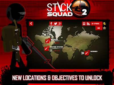 Stick Squad 2 - Shooting Elite 1.3.3 screenshot 11