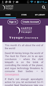 VoyagerBooks: Fantasy & Sci Fi 1.39.832 screenshot 1
