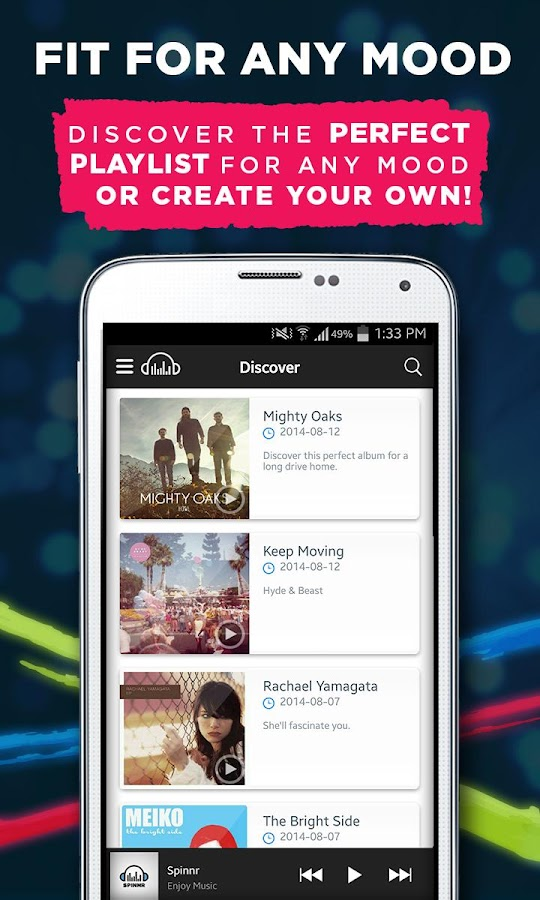 Spinnr Music 3 2 0 APK Download - Android Music & Audio Apps
