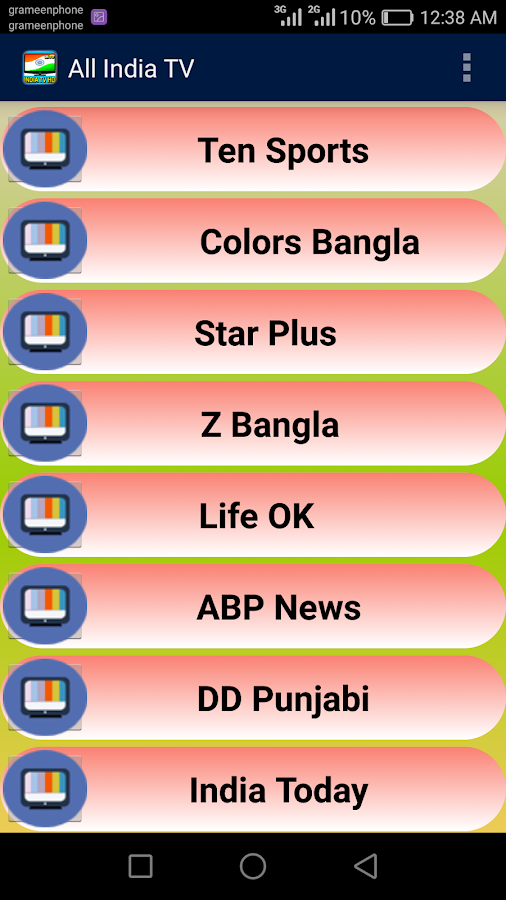 Live Indian TV Channels Free 1 0 APK Download - Android