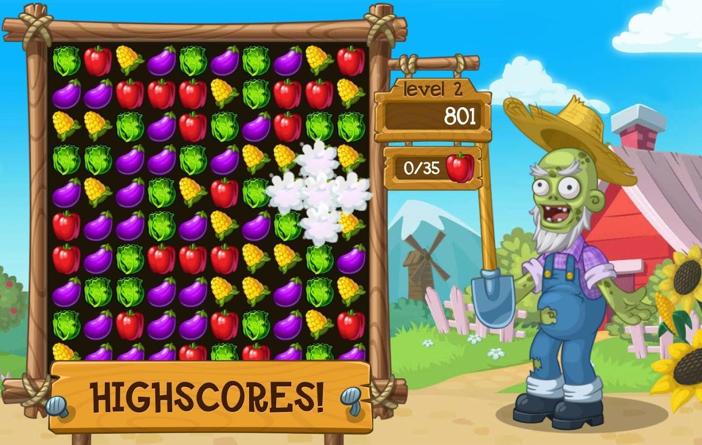 Zombie Match  Screenshot