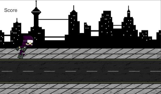 Ninja Run 1.1 screenshot 1