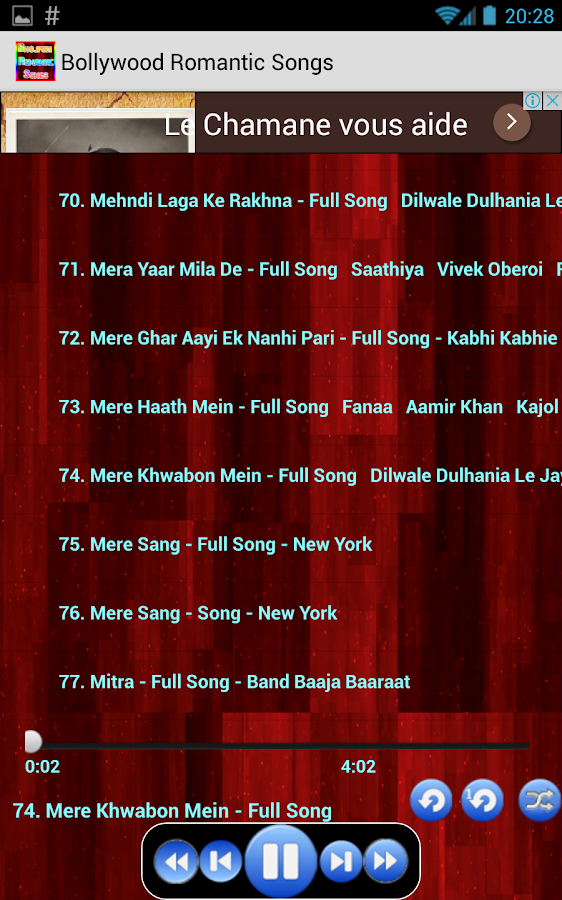 Bollywood Romantic Songs Hits 42 Apk Download Android Music