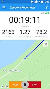 Pedometer - Step Counter, walking tracker 1.2.15 screenshot 1