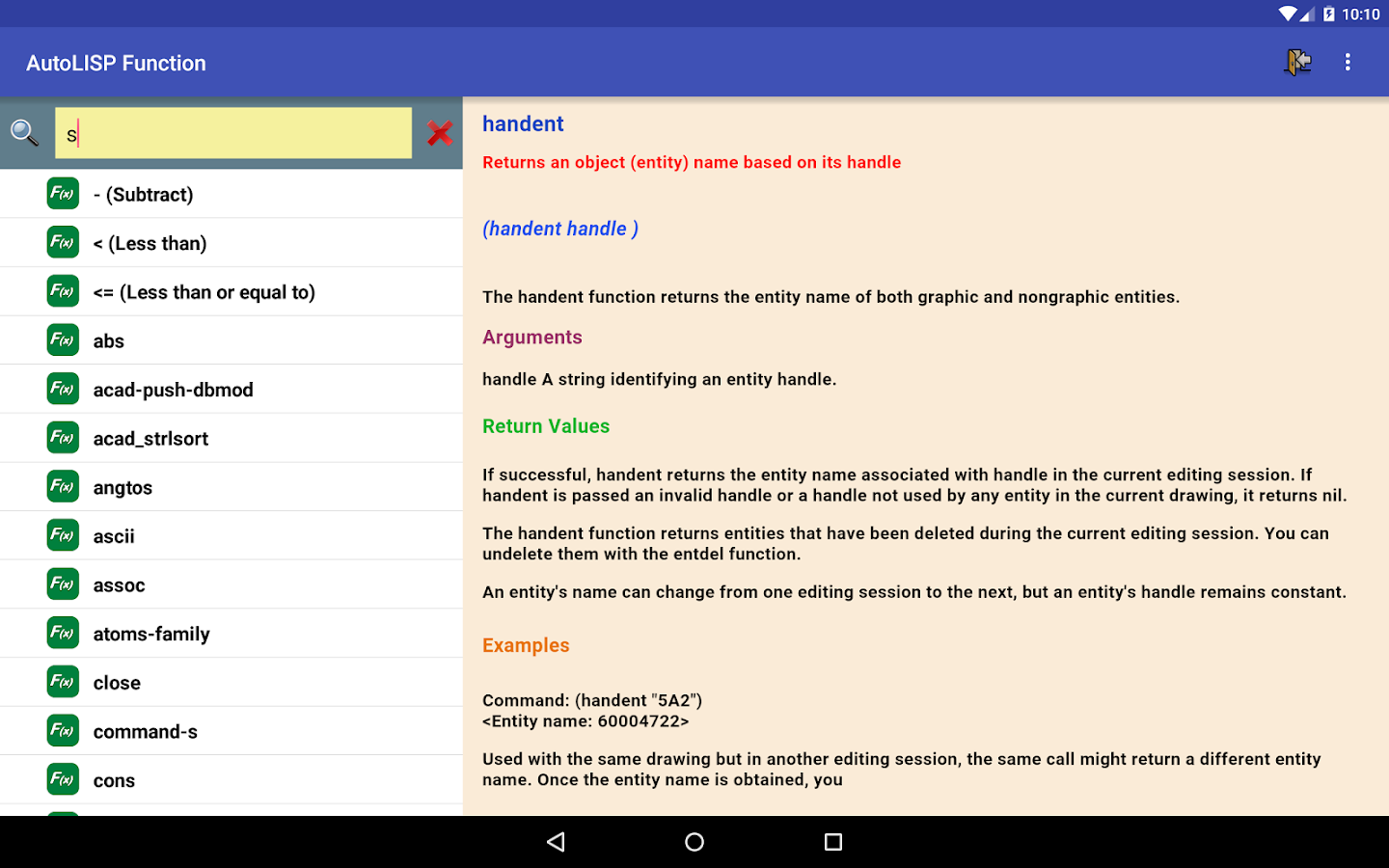 AutoLISP Function 1 6 1 APK Download - Android Tools Apps