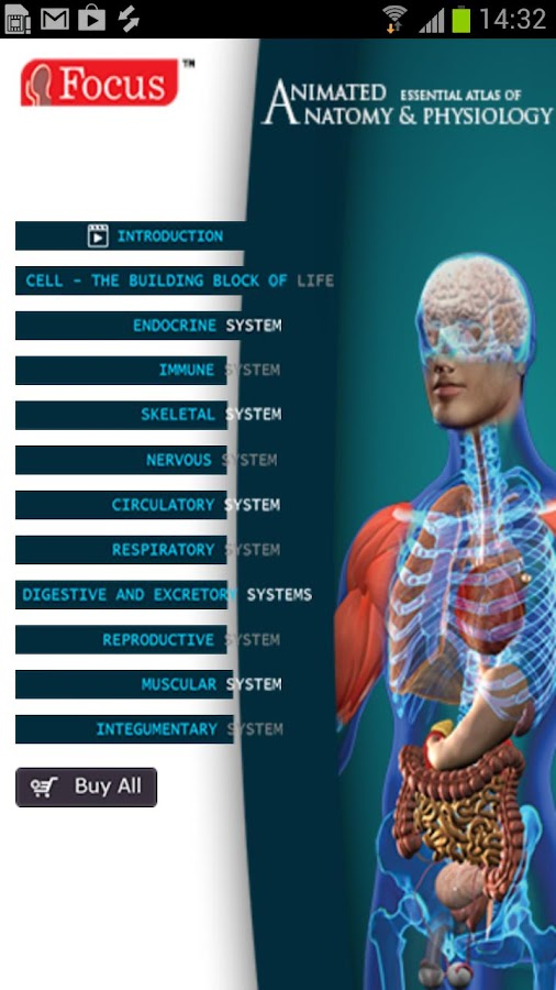 Anatomy & Physiology-Animated 1 8 APK Download - Android Medical Apps