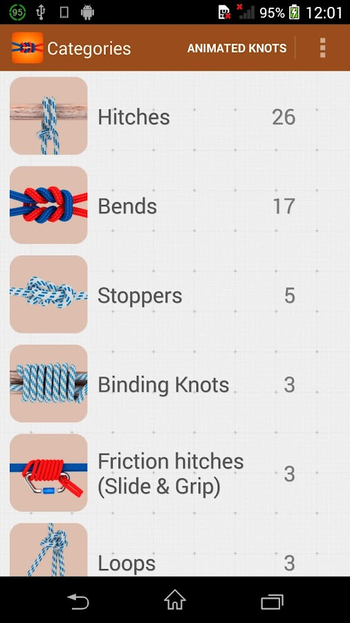 How to tie knots 3d pro 102 apk download android books how to tie knots 3d pro 102 screenshot 7 ccuart Image collections