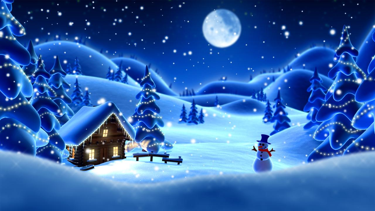 Winter Snow Cartoon LWP PRO 111 Screenshot 3