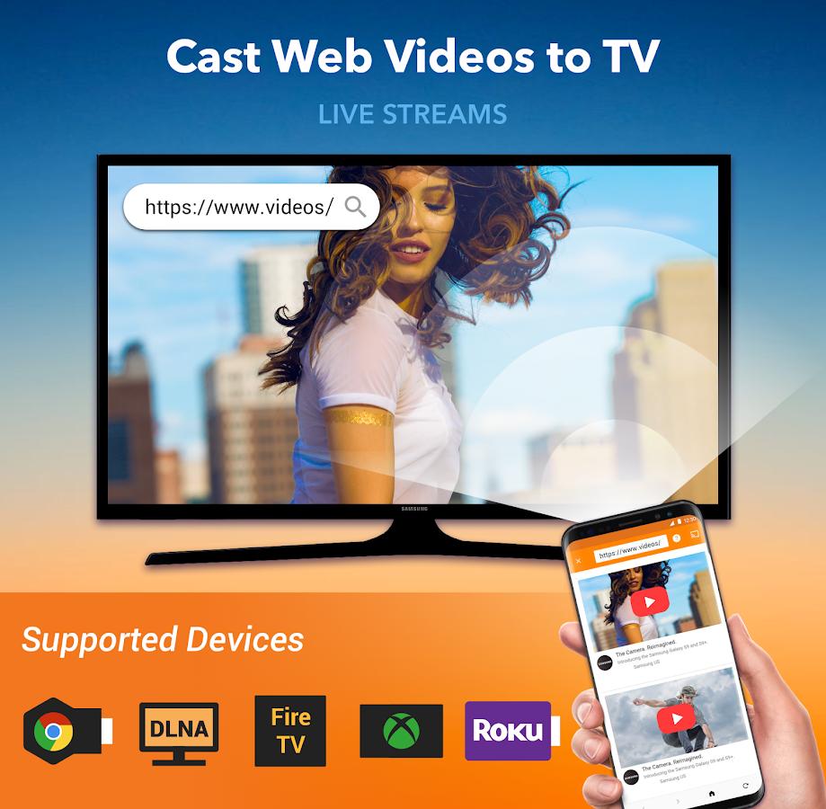 Cast to TV: Chromecast, Roku, Fire TV, Xbox, IPTV 1 3 0 3