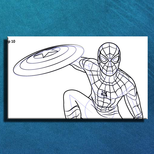 How To Draw Spiderman Homecoming Easy 1 0 APK Download