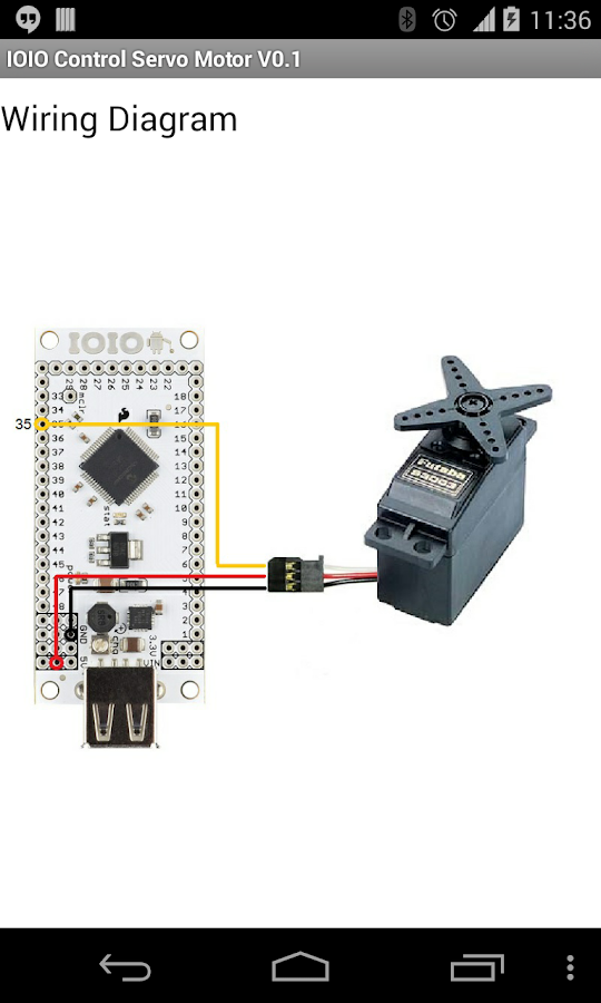 Ioio Servo Motor Pwm Control Apk Download Android Tools Apps
