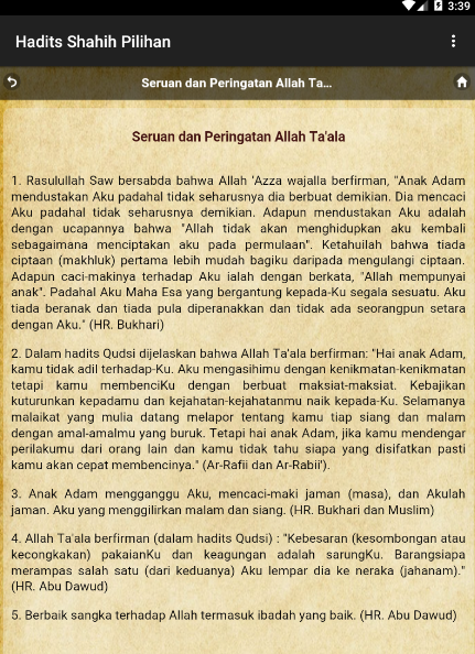 Kumpulan Hadits Sahih 9 Imam 1 0 Apk Download Android Books