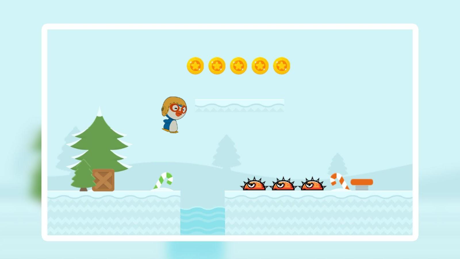Pororo Run And Slide 2 11 Apk Download Android Adventure Games Flipper Screenshot 1