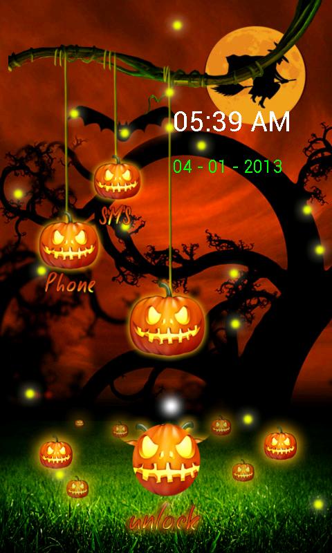 halloween firefly lock screen 10 screenshot 10