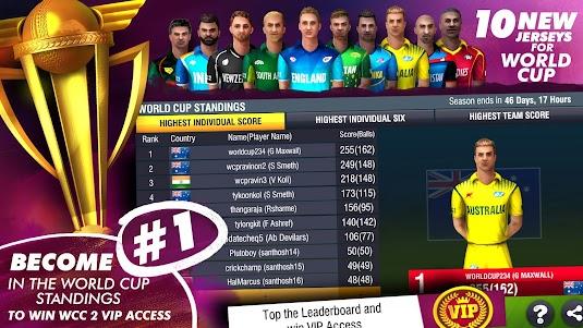World Cricket Championship 2 - WCC2 2.8.7 screenshot 1