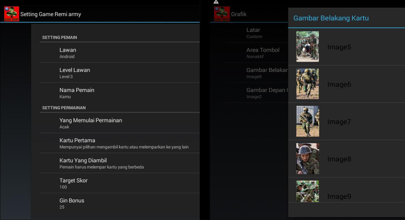 Kartu Remi Army 35 Apk Download Android Card Games Screenshot 6