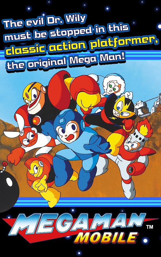 MEGA MAN MOBILE 1 02 01 APK Download - Android Action Games