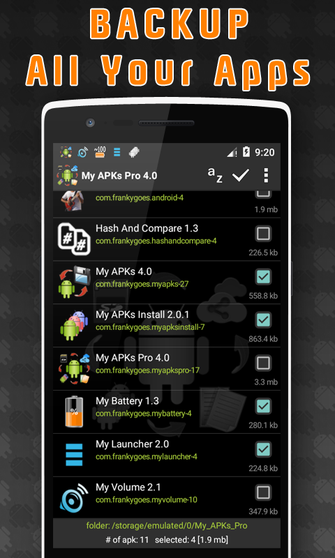 My APKs Pro - backup manage apps apk advanced 4 2 APK