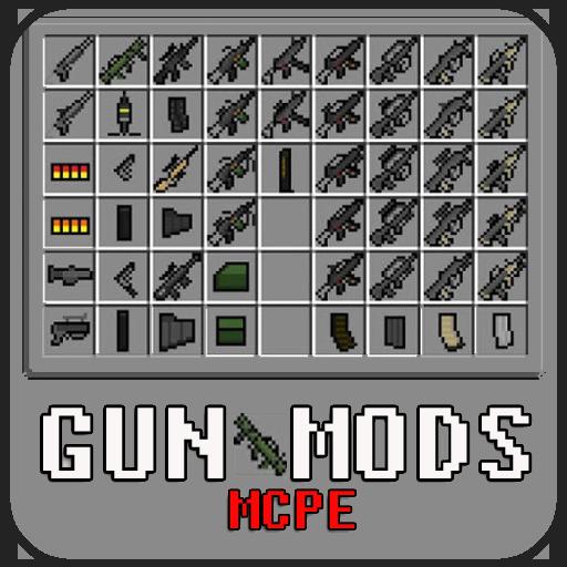 download minecraft pe mod gun