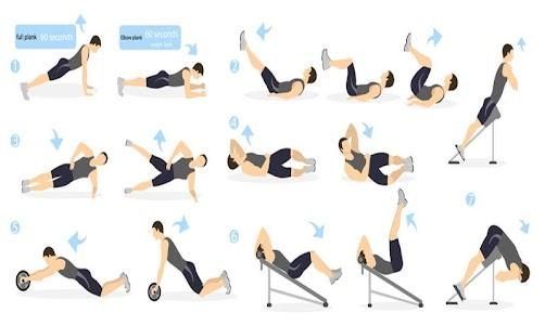 Abdominal exercises for Men and Women 2.0 screenshot 7