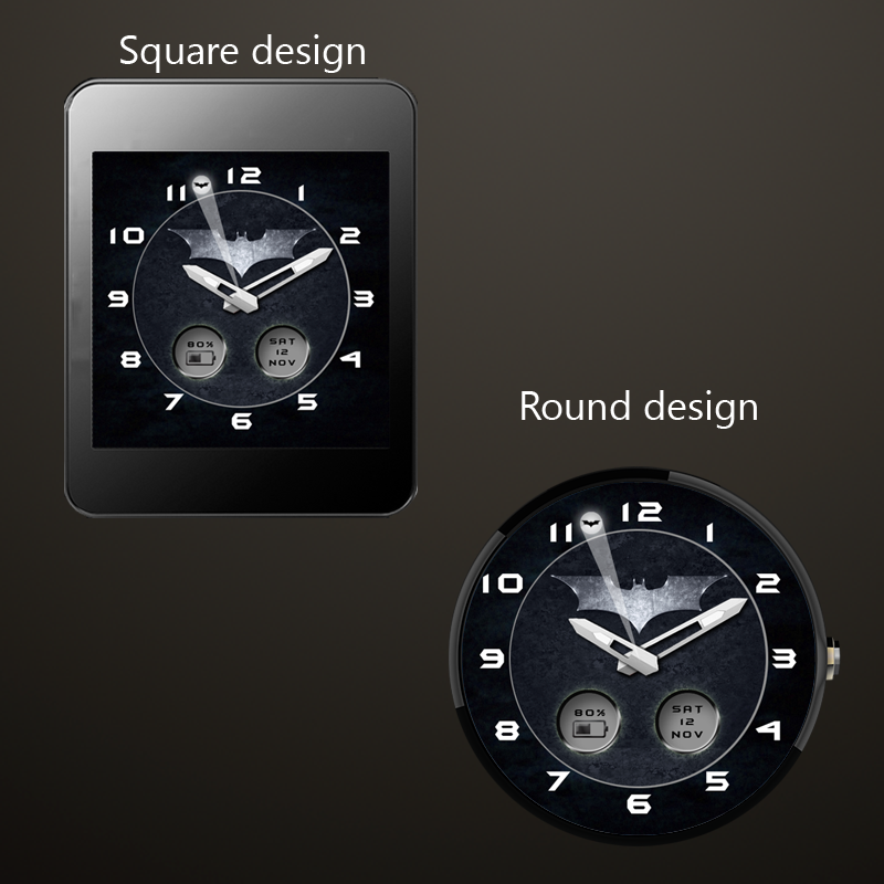 Watch Face Batman 1 0 APK Download - Android Personalization Apps