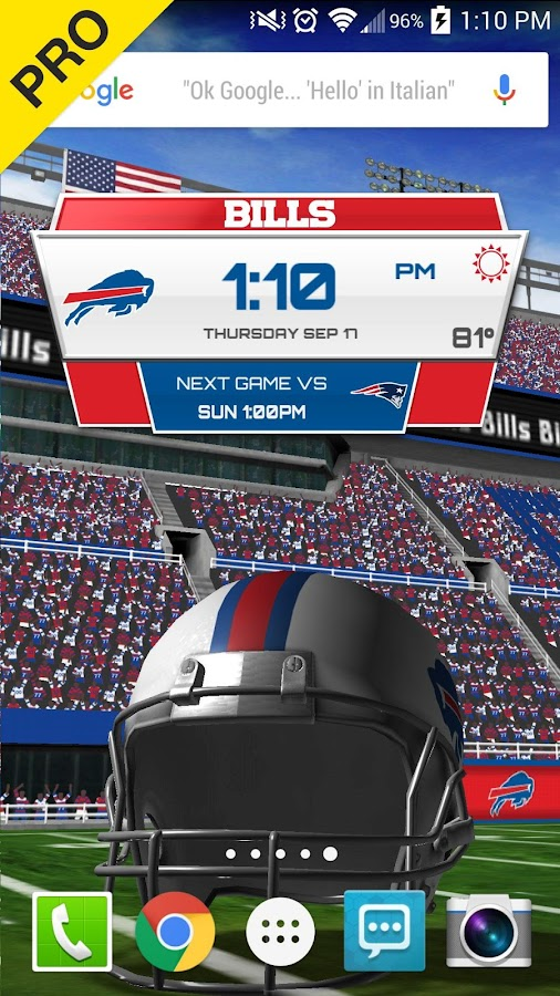 NFL 2015 Live Wallpaper 241 Screenshot 5