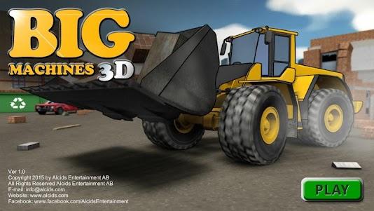 Big Machines 3D 1.03 screenshot 1