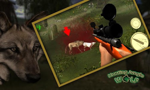 Hunting Jungle Wolf 1.3 screenshot 2