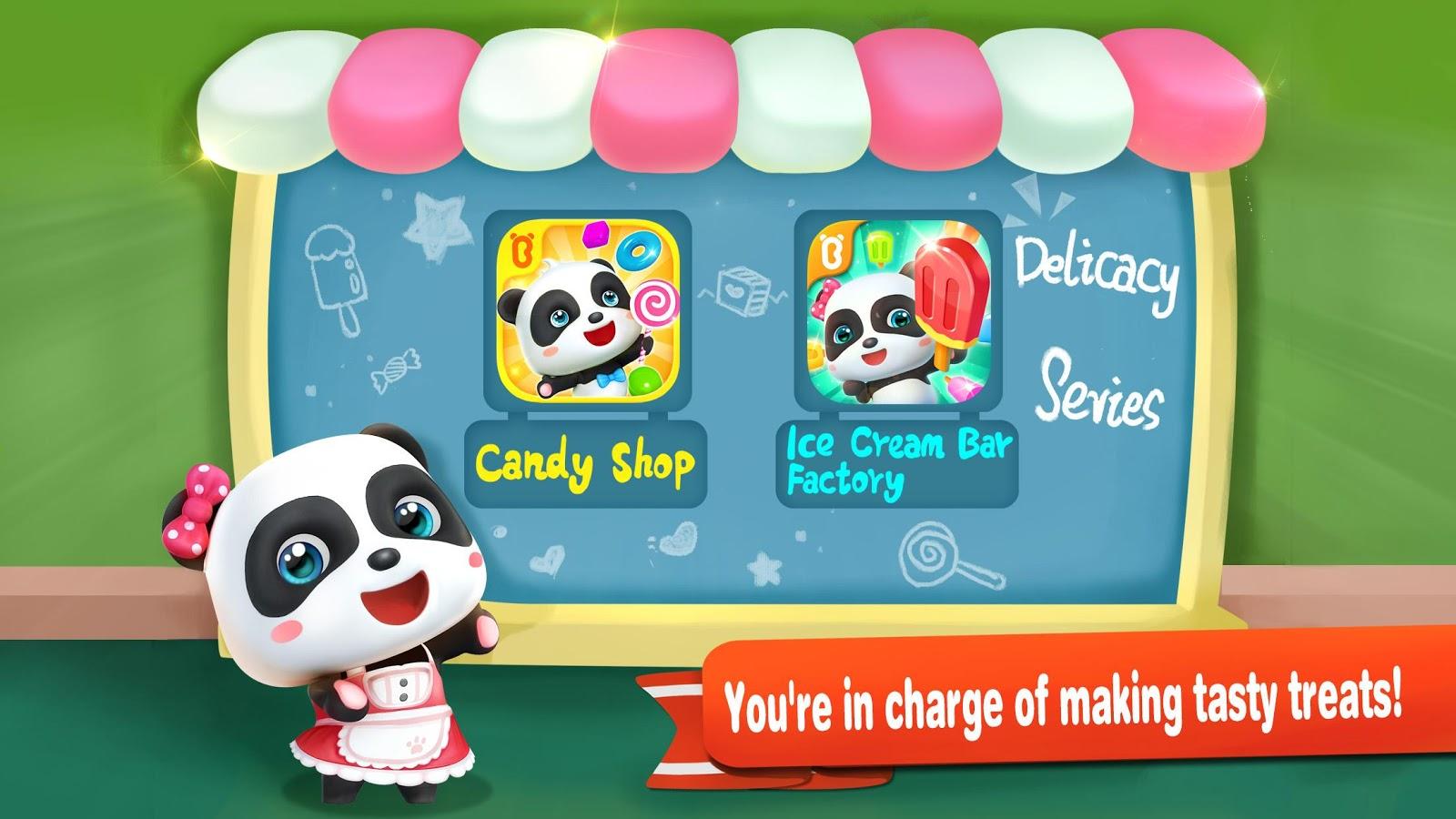 Little Pandas Ice Cream Factory 8290000 Apk Download Android Mainan Anak Frozen Maker Pembuat Screenshot 10