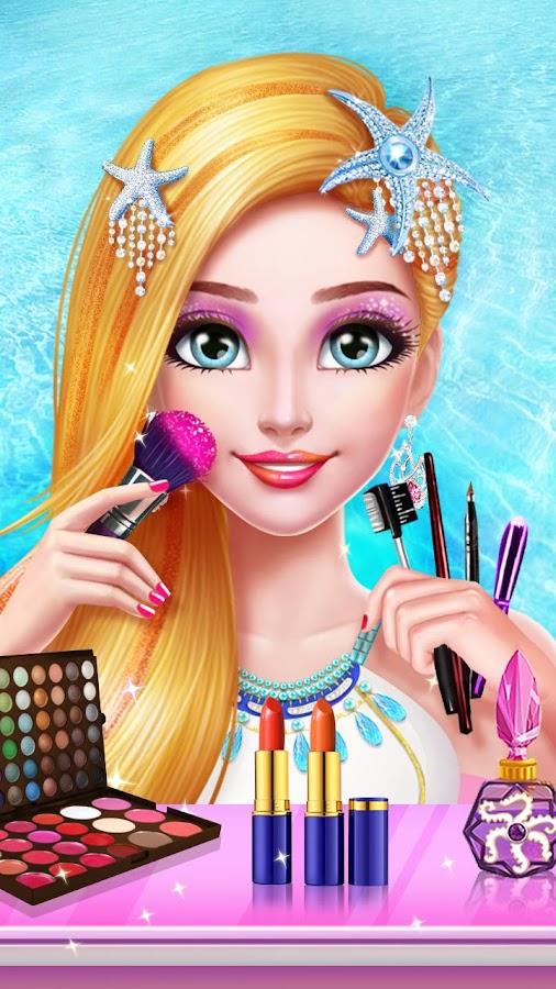 Mermaid Princess Makeup - Girl Fashion Salon 1.6.3935 screenshot 1 ...