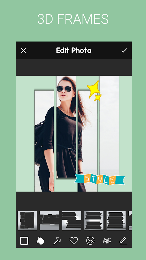 3D Pic Frames: Photo Collage Art Lab Pro 1 2 APK Download - Android