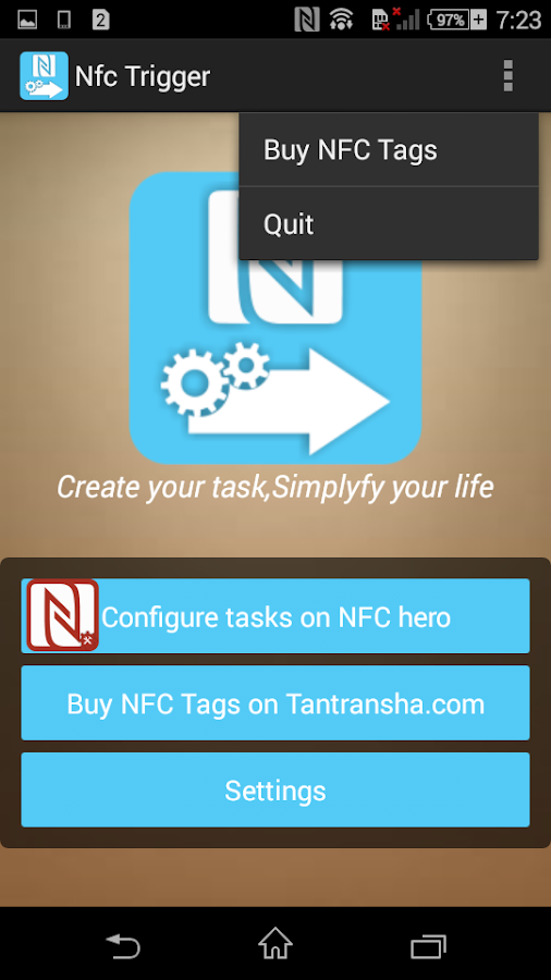 NFC Trigger 1 2 APK Download - Android Tools Apps