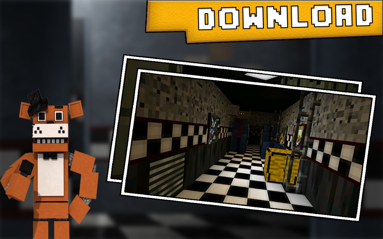 fnaf 1 map minecraft download