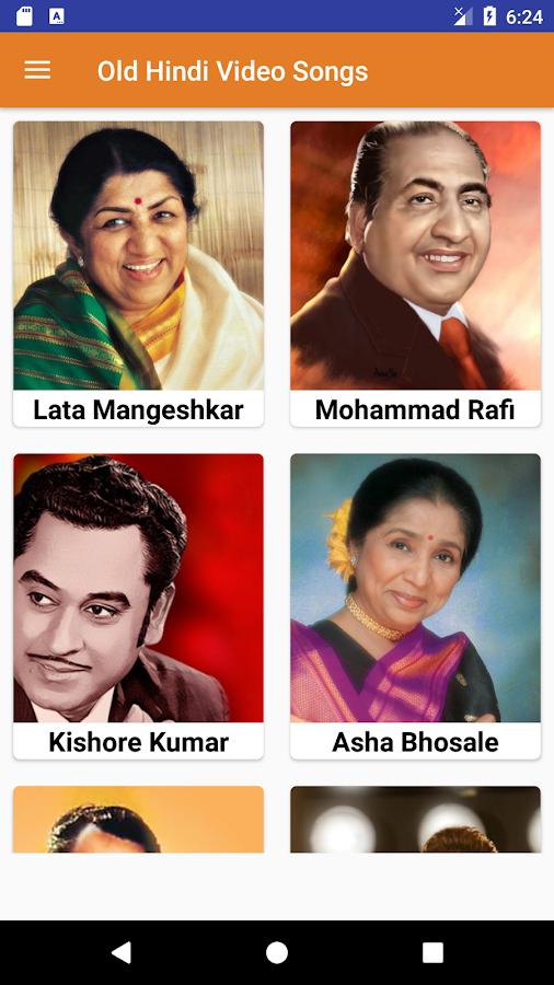 Old Hindi Songs Old Hindi Video Songs 1 1 Apk Download Android