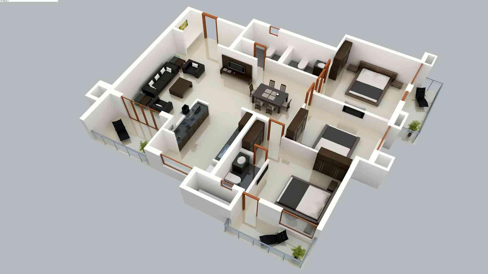 3D Home Floor Plan Ideas 1.0 APK Download - Android Lifestyle Apps