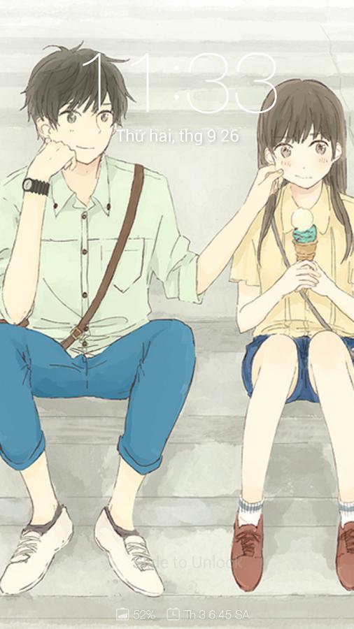 93+ Gambar Anime Couple Lucu Terpisah Terlihat Keren